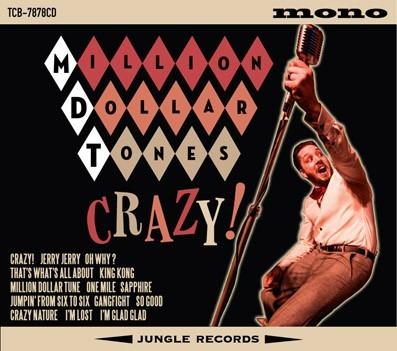MILLION DOLLAR TONES - Crazy CD