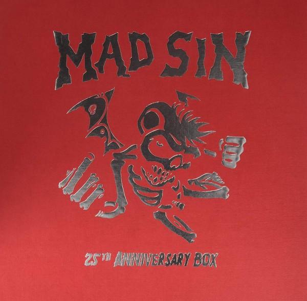 """MAD SIN - 25th ANNIVERSARY BOX 4 x LP + 7"""" ltd."""