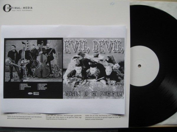 EVIL DEVIL - Breakfast At The Psychohouse LP white label