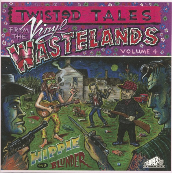 V.A. - Twisted From The Wastelands Vol.4 LP