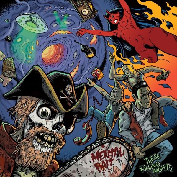 MENTAL BAIT - These Killing Nights LP ltd.