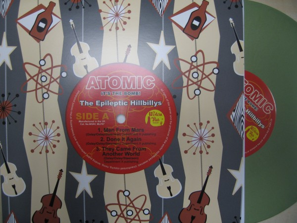 "EPILEPTIC HILLBILLYS - Atomic It's the Bomb! 10""LP"
