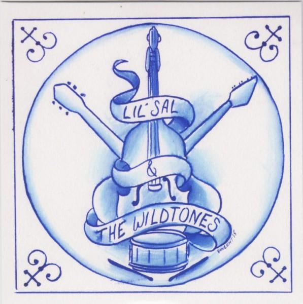 """L'IL SAL & THE WILDTONES - Just Like Wine 7""""EP ltd."""