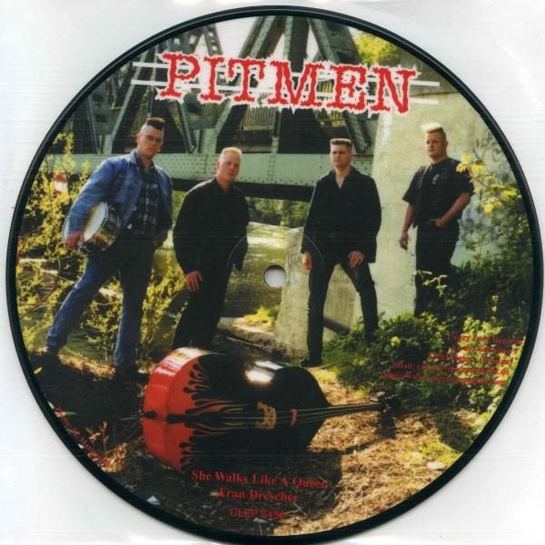 """PITMEN - Fran Drescher 7""""EP"""