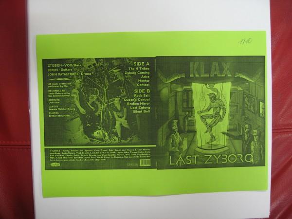 KLAX - Last Zyborg 2 x LP test pressing ltd.