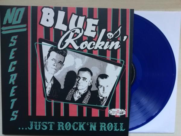 BLUE ROCKIN' - No Secrets….Just Rock'n'Roll LP blue ltd.