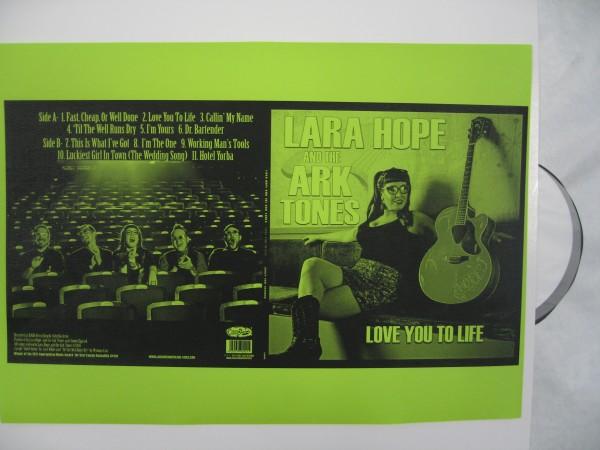 LARA HOPE & THE ARK-TONES - Love You To Life 2 x LP test pressing ltd.-Copy