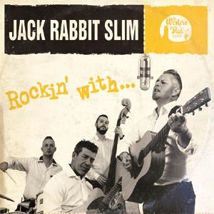 "JACK RABBIT SLIM - Rockin' With...10""LP ltd.col. vinyl"