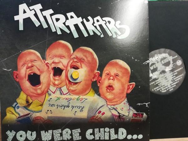 ATTRACKARS - You Were Child...LP black ltd.