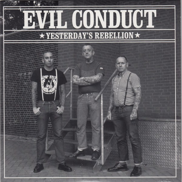 """EVIL CONDUCT / MARCHING ORDERS Split 7"""""""