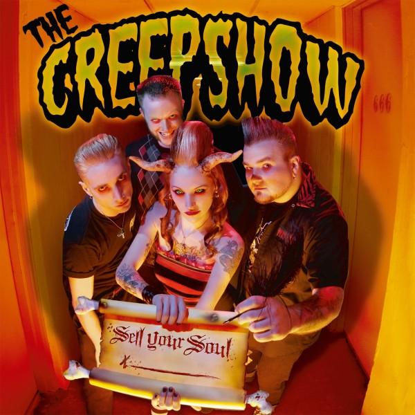 CREEPSHOW - Sell Your Soul LP green ltd.