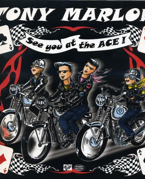 """MARLOW, TONY - See You At The Ace! 10""""LP"""