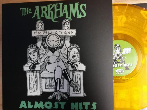 ARKHAMS - Almost Hits LP ltd. orange