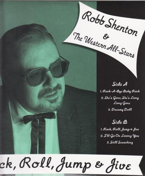 "SHENTON, ROBB & THE WESTERN ALL STARS - Rock, Roll...10""LP"