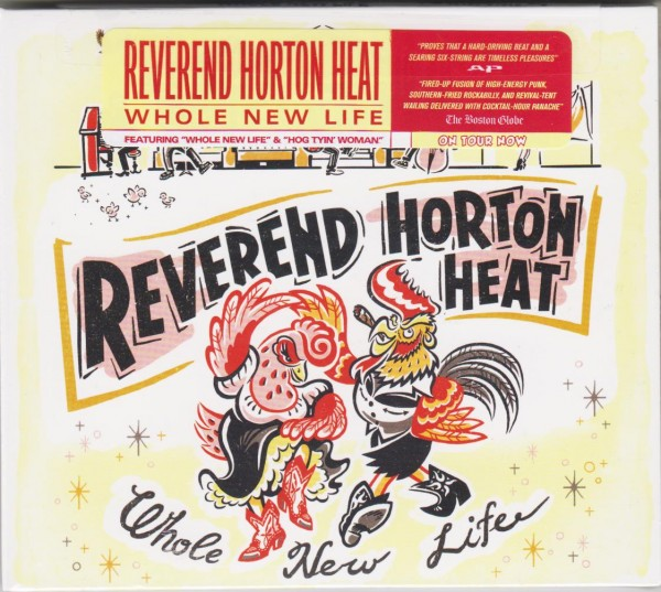 REVEREND HORTON HEAT - Whole New Life CD