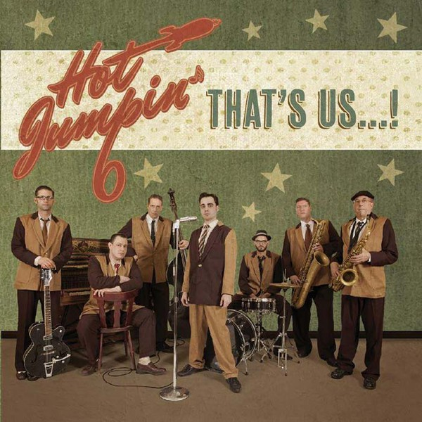 HOT JUMPIN' 6 - That's Us...! CD