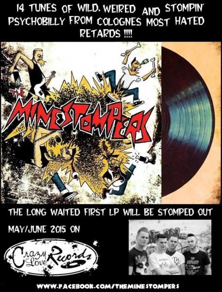 MINESTOMPERS - Minestompers CD