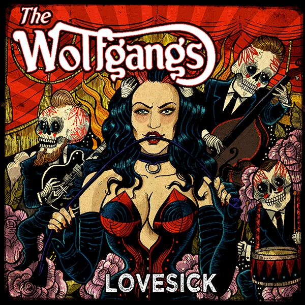 WOLFGANGS - Lovesick LP