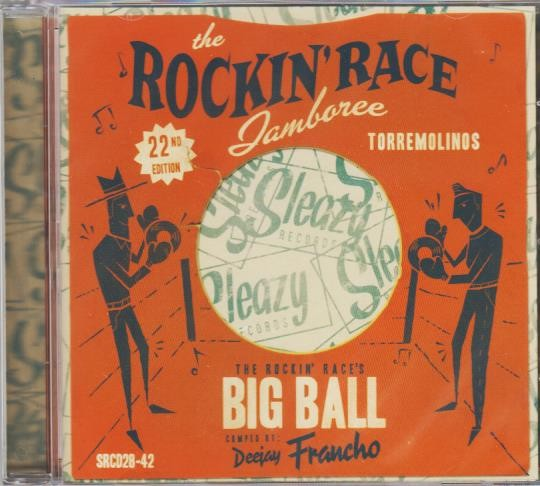V.A. - Rockin Race Jamboree 2016 CD