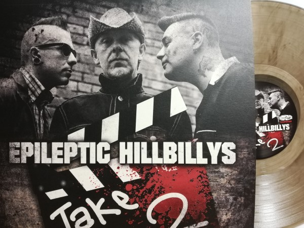 EPILEPTIC HILLBILLYS - Take Two LP clear ltd.