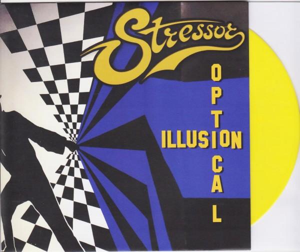 "STRESSOR - Optical Illusion 7"" YELLOW ltd."