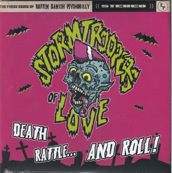 "STORMTROOPERS OF LOVE - Death, Rattle And Roll 7""EP"