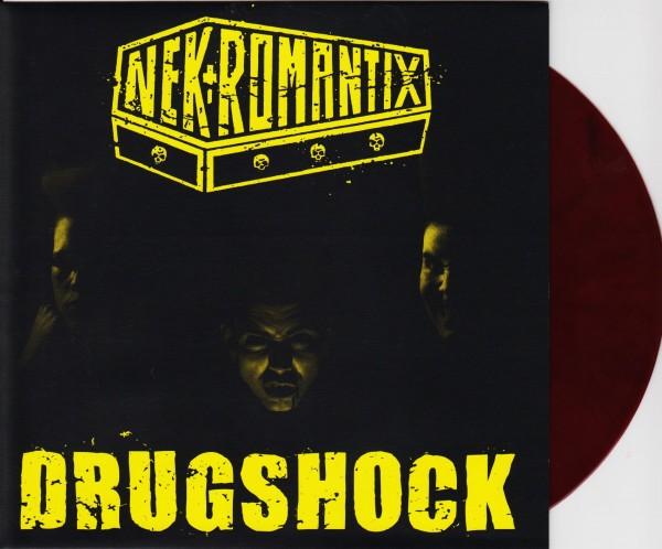 "NEKROMANTIX - Drugshock 7""EP RED BLACK ltd."