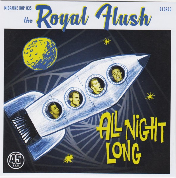 ROYAL FLUSH - All Night Long 7""