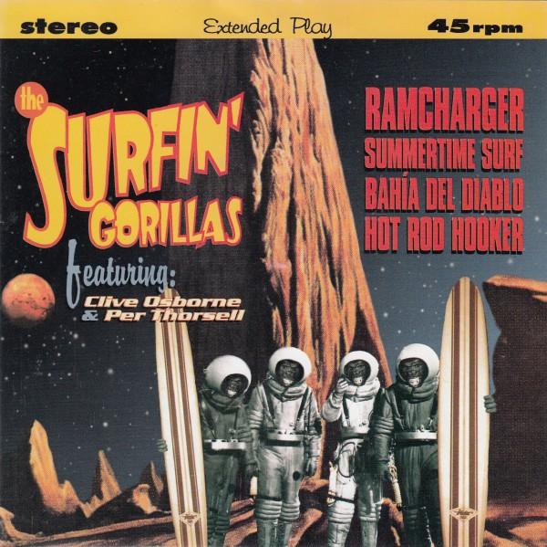 """SURFIN' GORILLAS - Ramcharger 7""""EP 2nd hand"""