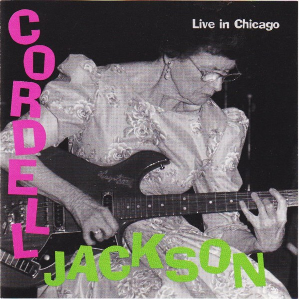 JACKSON, CORDELL-Live In Chicago CD