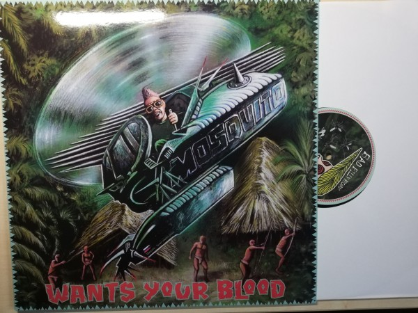 MOSQUITO - Wants Your Blood LP ltd. black