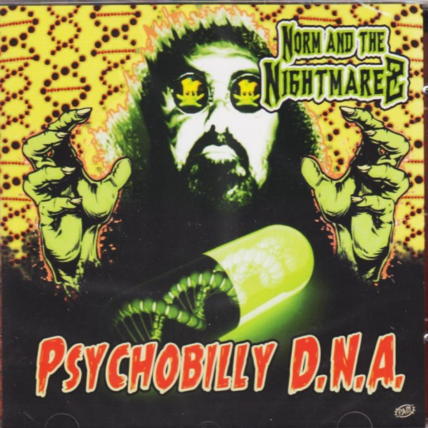 NORM AND THE NIGHTMAREZ - Psychobilly D.N.A. CD
