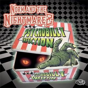 NORM AND THE NIGHTMAREZ - Psychobilly Infection CD