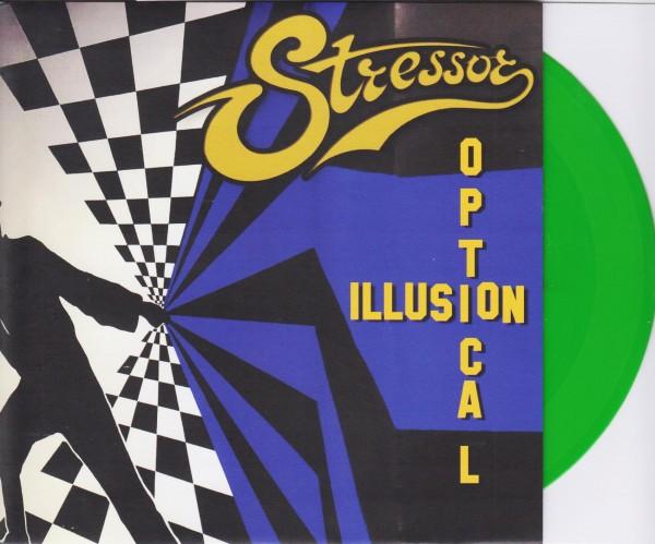 "STRESSOR - Optical Illusion 7"" GREEN ltd."