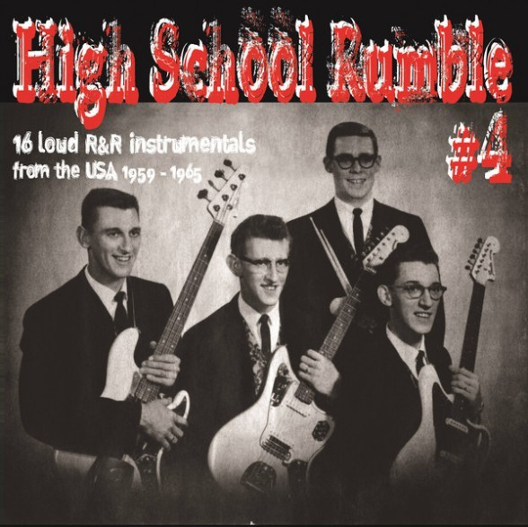 V.A. - High School Rumble #4 LP