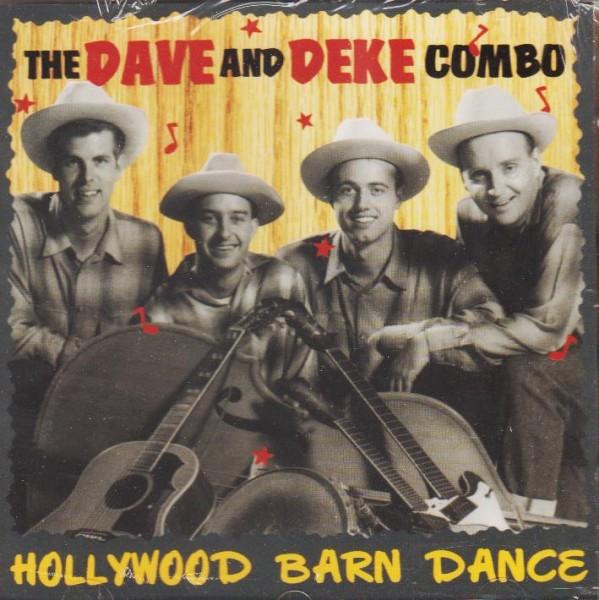 DAVE & DEKE COMBO-Hollywood Barn Dance CD