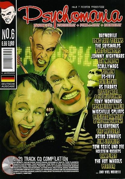 PSYCHOMANIA # 6 + CD