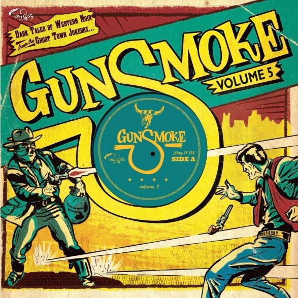 """V.A. - Gunsmoke Vol.5 10""""LP ltd."""