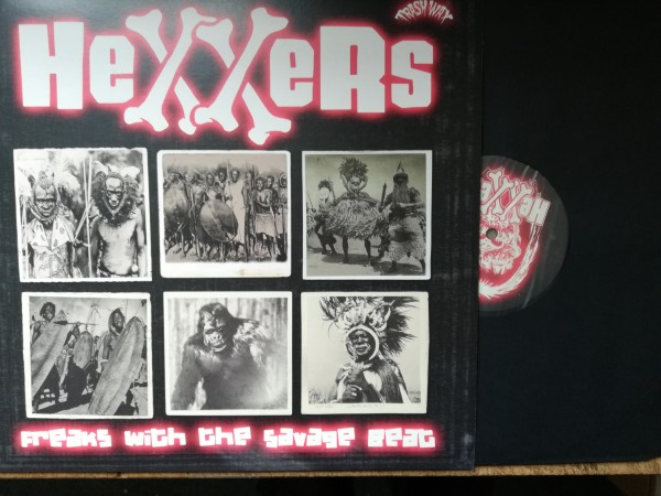 HEXXERS - Freaks With The Savage Beat LP