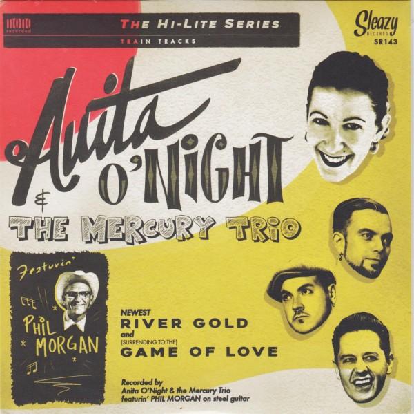 """ANITA O'NIGHT & THE MERCURY TRIO 7"""""""
