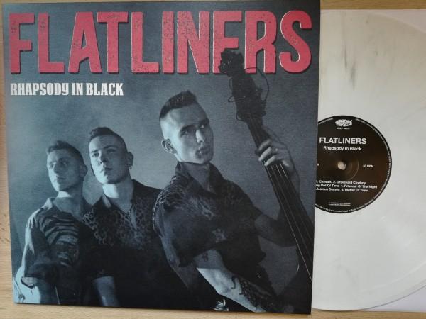 FLATLINERS - Rhapsody In Black LP white ltd.
