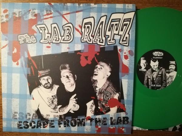 LAB RATZ - Escape From The LP ltd. green
