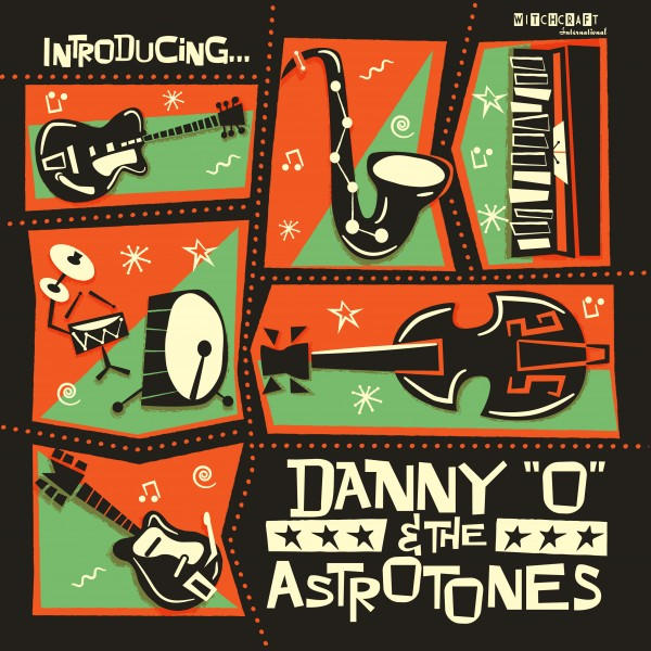 DANNY O & THE ASTROTONES - Introducing...CD