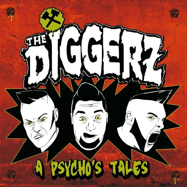 DIGGERZ - A Psycho's Tales LP orange ltd.