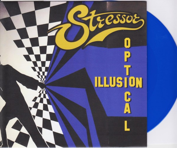 "STRESSOR - Optical Illusion 7"" BLUE ltd."