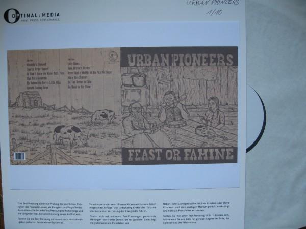 URBAN PIONEERS - Feast Or Famine LP test pressing