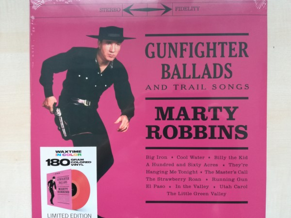 ROBBINS, MARTY ‎– Gunfighter Ballads And Trail Songs LP