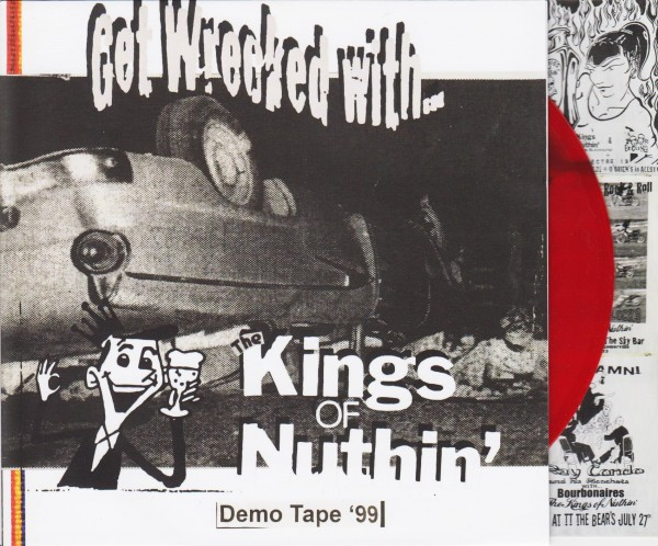 "KINGS OF NUTHIN' - Get Wrecked With 7""EP RED"
