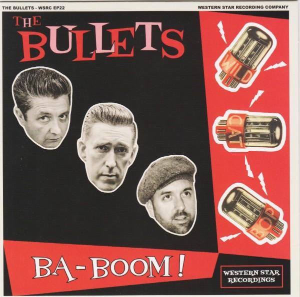 "BULLETS - Ba-Boom! 7""EP"