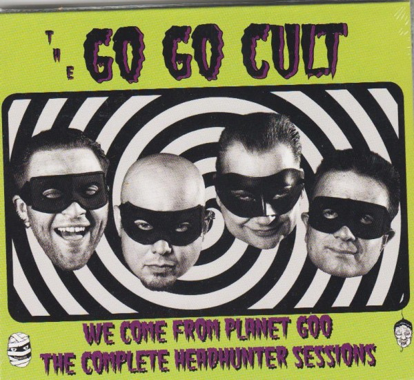 GO GO CULT - We Come from Planet Goo CD